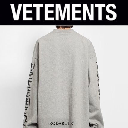VETEMENTS More T-Shirts Street Style Logo T-Shirts 6