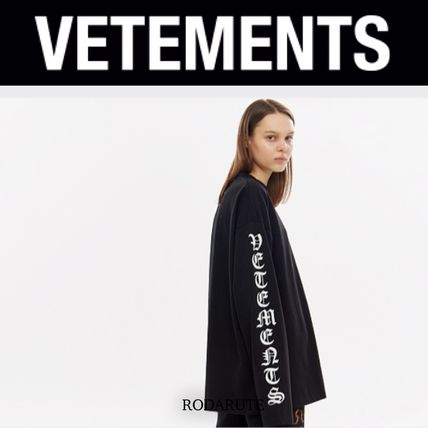 VETEMENTS More T-Shirts Street Style Logo T-Shirts 7