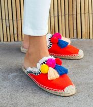 SOLUDOS Flower Patterns Platform Casual Style Espadrille Shoes