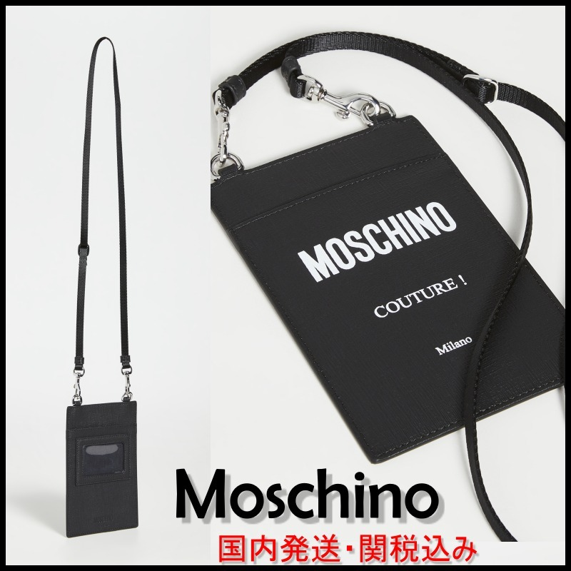 shop moschino wallets & card holders