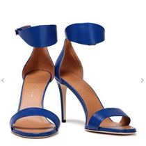Victoria Beckham Open Toe Leather Pin Heels Sandals Sandal