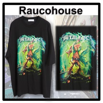 Raucohouse More T-Shirts Unisex Street Style Short Sleeves T-Shirts