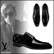 Louis Vuitton MONOGRAM Monogram Leather Oxfords