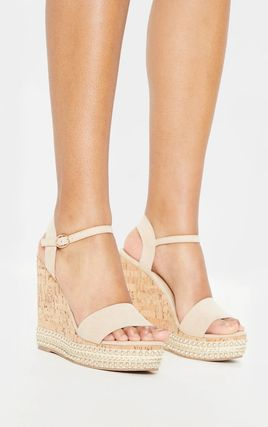 Open Toe Casual Style Plain Party Style