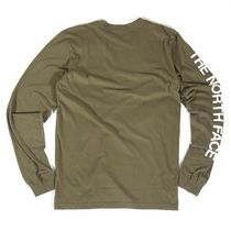 THE NORTH FACE Unisex Street Style Long Sleeves Long Sleeve T-shirt Outdoor