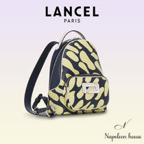 LANCEL Casual Style Street Style Other Animal Patterns Leather