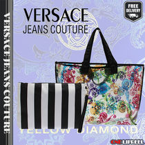 VERSACE JEANS Elegant Style Totes
