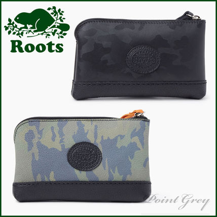 [Roots] Funky Zip Pouch Camo