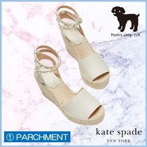 kate spade new york Open Toe Casual Style Studded Leather Party Style