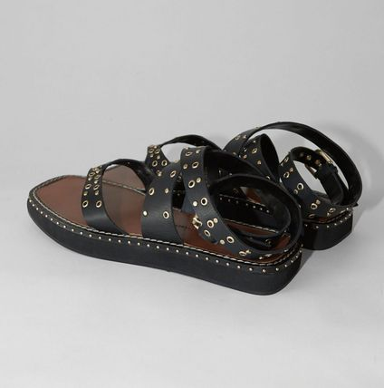 Casual Style Studded Leather Sandals Sandal