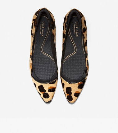Cole Haan Leopard Patterns Casual Style Street Style Plain Party Style