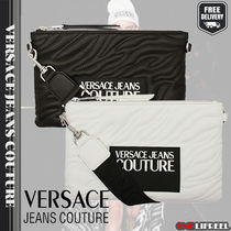 VERSACE JEANS Casual Style Other Animal Patterns Handbags
