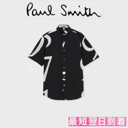 Paul Smith Shirts Street Style Cotton Short Sleeves Shirts