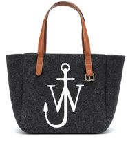 J W ANDERSON Casual Style Leather Logo Totes