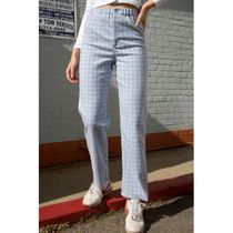 Brandy Melville Other Plaid Patterns Casual Style Long Office Style