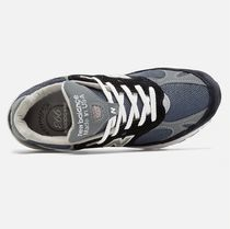 New Balance 993 Unisex Suede Street Style Low-Top Sneakers