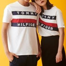Tommy Hilfiger More T-Shirts Crew Neck Unisex Cotton Short Sleeves Logo T-Shirts 8