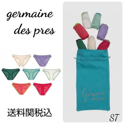Germaine des Pres Plain Cotton Underwear