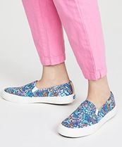 Keds Flower Patterns Collaboration Low-Top Sneakers