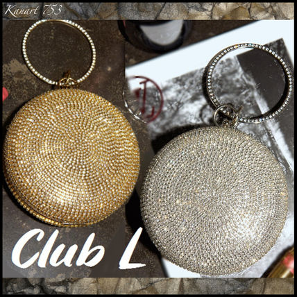 Chain Party Style With Jewels Elegant Style Party Bags