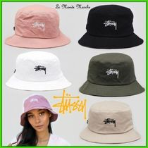 STUSSY Unisex Street Style Bucket Hats Keychains & Bag Charms