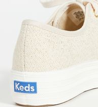 Keds Casual Style Unisex Street Style Logo Low-Top Sneakers