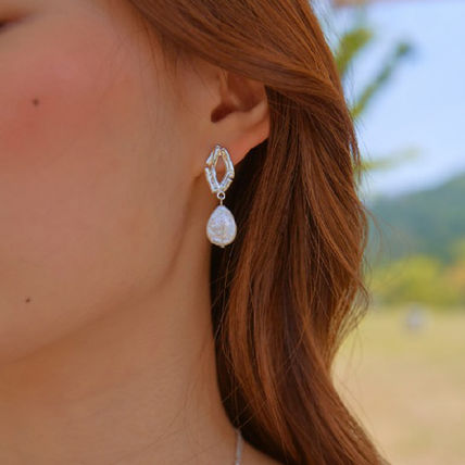 Casual Style Street Style Party Style Earrings