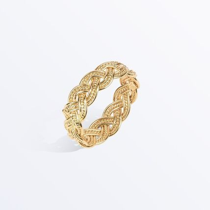 Casual Style Party Style Brass 14K Gold Elegant Style Rings