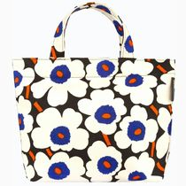 marimekko Flower Patterns Casual Style Unisex Canvas Street Style