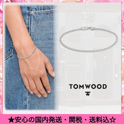 Casual Style Unisex Street Style Chain Silver Bracelets