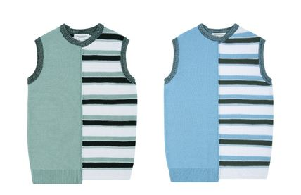 Casual Style Unisex Street Style Oversized Vests