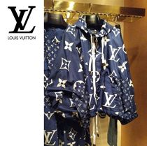 Louis Vuitton MONOGRAM Short Monogram Casual Style Nylon Nylon Jacket  Jackets