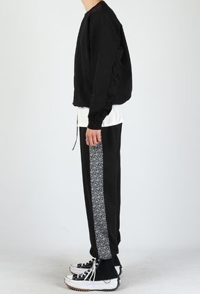 Slax Pants Paisley Unisex Street Style Collaboration Plain