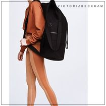 Victoria Beckham Casual Style Unisex Collaboration Backpacks