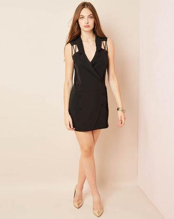 Wrap Dresses Casual Style Silk Party Style Office Style