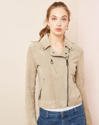 Casual Style Leather Formal Style  Jackets