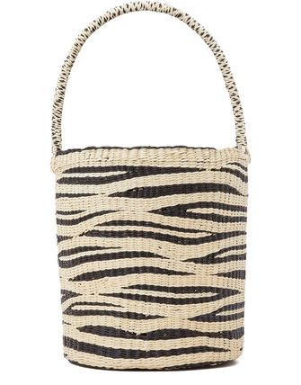 Stripes Straw Bags