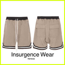 Insurgence Wear Street Style Plain Cotton Shorts