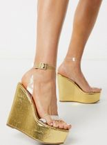 ASOS Open Toe Platform Casual Style Party Style