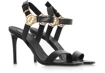 BALMAIN Casual Style Plain Leather Party Style Logo Sandals Sandal