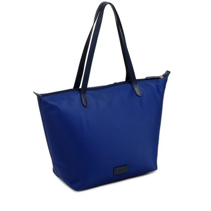 Casual Style Nylon Street Style A4 Plain Office Style Totes