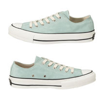 CONVERSE ALL STAR Star Rubber Sole Casual Style Unisex Suede Street Style