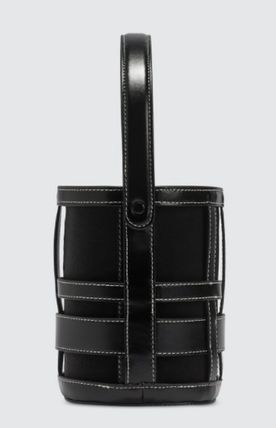 Casual Style Calfskin Bag in Bag 2WAY Plain Party Style