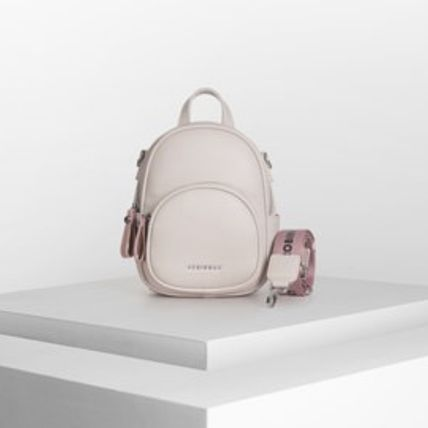 Casual Style Office Style Elegant Style Backpacks