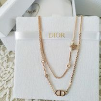 Christian Dior Casual Style Chain Party Style Elegant Style Formal Style