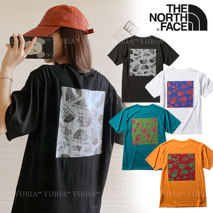 THE NORTH FACE More T-Shirts Unisex Street Style Short Sleeves Logo Outdoor T-Shirts
