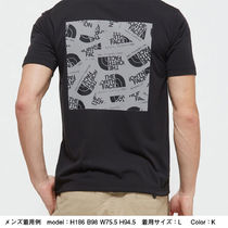 THE NORTH FACE More T-Shirts Unisex Street Style Short Sleeves Logo Outdoor T-Shirts 14
