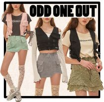 ODD ONE OUT Casual Style Street Style Vests