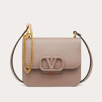 VALENTINO  VSLING Casual Style Calfskin 2WAY Plain Leather Party Style