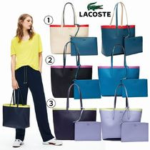 LACOSTE Casual Style Plain Other Animal Patterns PVC Clothing